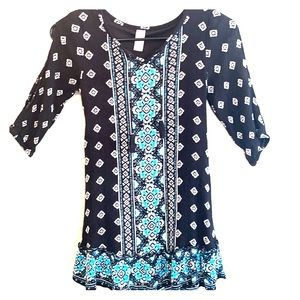 Girls Justice Tunic Top Size 10